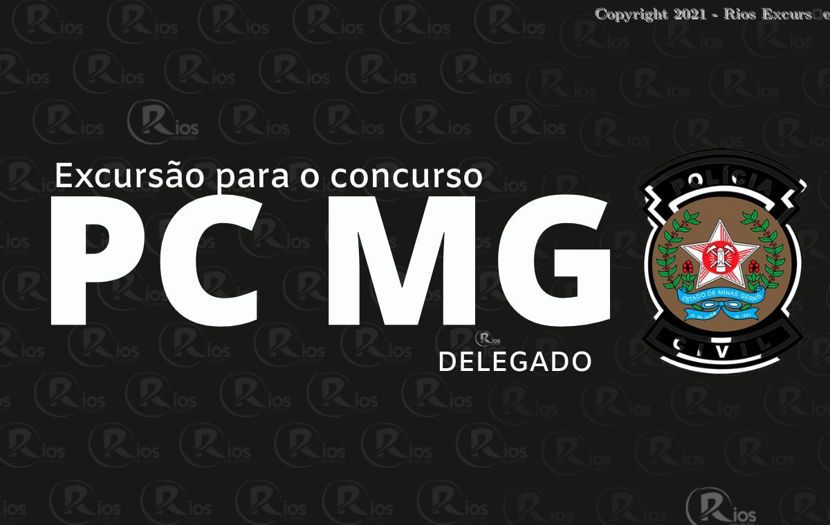 EXCURSãO PCMG DELEGADO/ESCRIVÃO