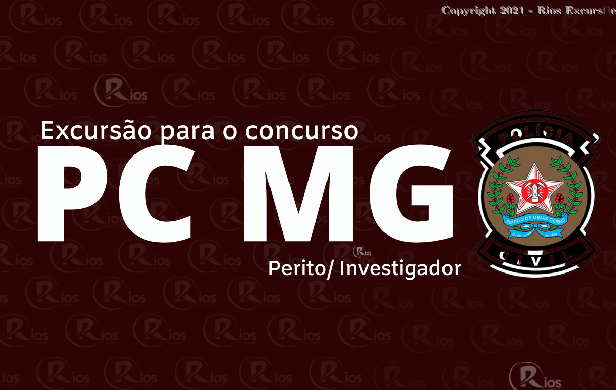 EXCURSãO PCMG (PERITO E INVESTIGADOR)